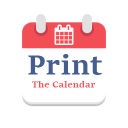 Print the calendar logo